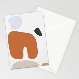 Shape Study #5 - Boulders Stationery Cards
