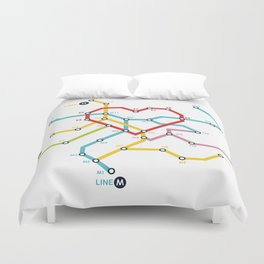 Home Where The Heart Is Duvet Cover