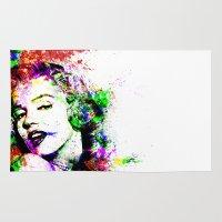 monroe Area & Throw Rugs featuring Monroe. by David