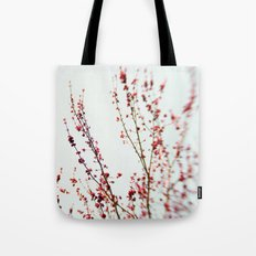 Red Blossom 2 Tote Bag