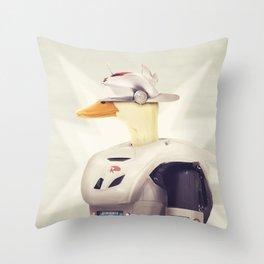 Justice Ducks - The Hero Throw Pillow
