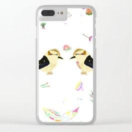 Kooky Kookaburra Clear iPhone Case