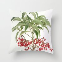 spice Throw Pillows featuring Spice Berry  by taiche