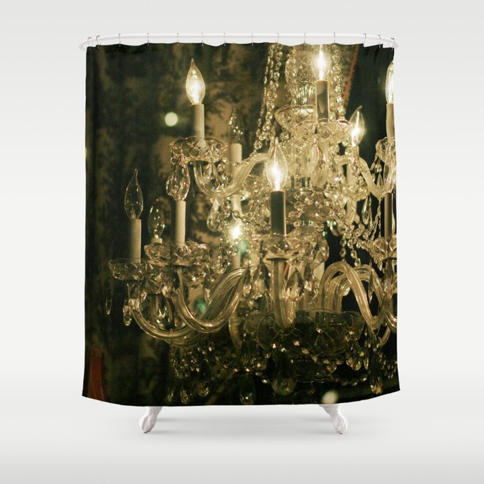 new orleans chandelier shower curtain by heathergreen. Black Bedroom Furniture Sets. Home Design Ideas