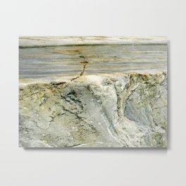 Marble Inside Photography Metal Print