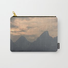 Grand Tetons at Sunset Carry-All Pouch