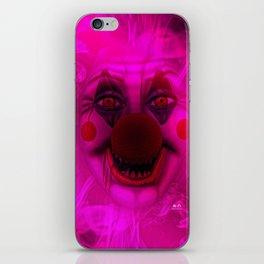Cotton Candy Clown iPhone Skin