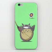 archer iPhone & iPod Skins featuring Totoro Archer by Gianluca Armeni