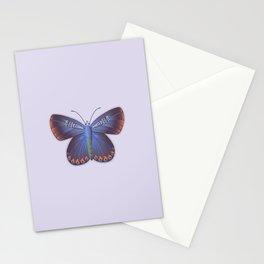 Karner Blue Butterfly - Lavender Palette Stationery Cards