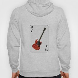 Solid Guitar Playing Card Hoody