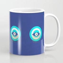 Blue Evil Eye tears of protection Coffee Mug