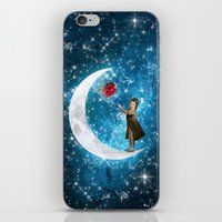 little prince iPhone & iPod Skins featuring The Little Prince by Diogo Verissimo