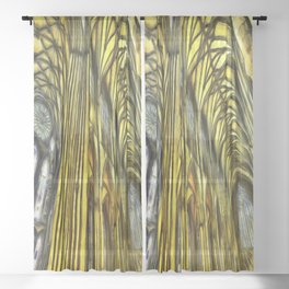 York Minster Van Gogh Sheer Curtain