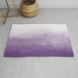 Ombre Paint Color Wash (purple/white) Rug