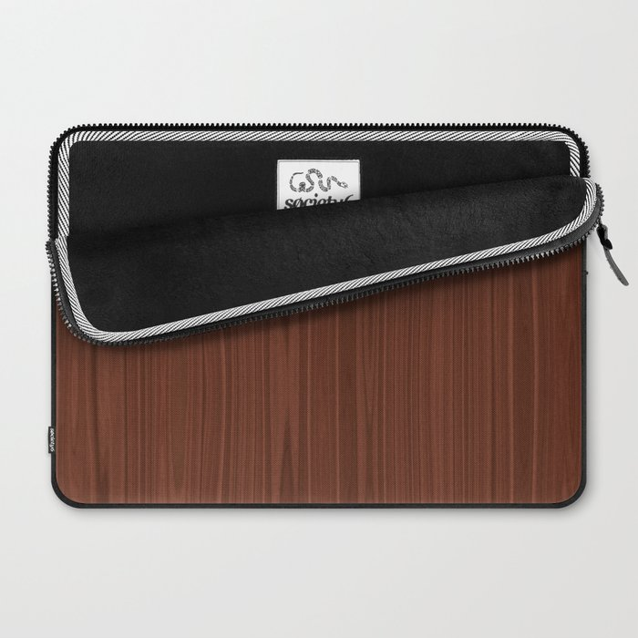 Walnut Wood Texture Laptop Sleeve