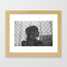 Rock Chain Framed Art Print