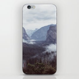 Yosemite, Tunnel view iPhone Skin