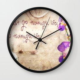 Grow trough Life Wall Clock