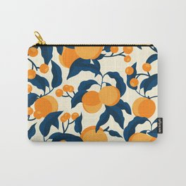 Vintage Apricot Pattern Carry-All Pouch