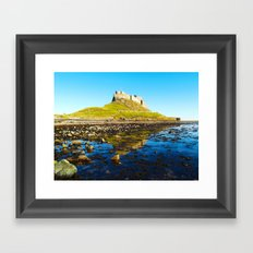 Holy Island Framed Art Print