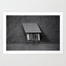 Old Roof Window 6680 Art Print