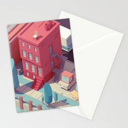 Little Town Stationery Cards