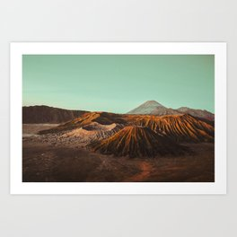 Bromo volcano, Indonesia Art Print