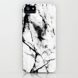 Marble Concrete Stone Texture Pattern Effect Dark Grain iPhone Case