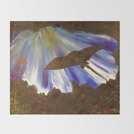 Manta ray Throw Blanket