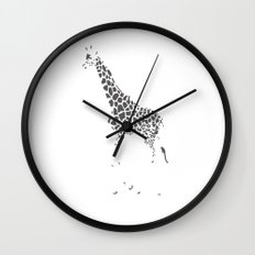 A Lack of Color Wall Clock