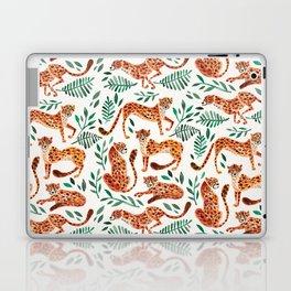 Cheetah Collection – Orange & Green Palette Laptop & iPad Skin