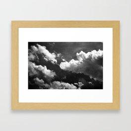Cloudy 1 Framed Art Print