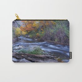 Mountain river. After raining. Night photography. Carry-All Pouch