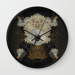 Astharte-Isis Wall Clock