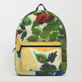Sweet Red Roses Backpack
