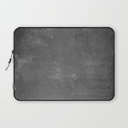 Gray and White School Chalk Board Laptop Sleeve