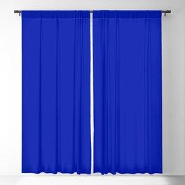 Blue Beauty ~ Vibrant Blue Blackout Curtain