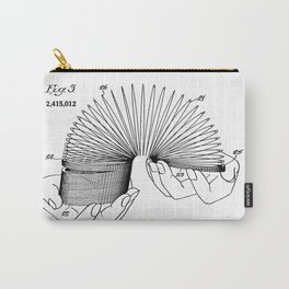 Use of Toy Slinky Carry-All Pouch