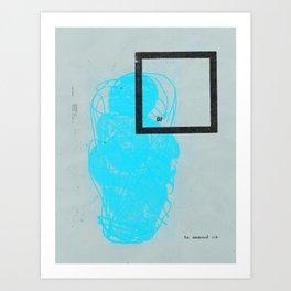 Archaischer Torso Apollos B Art Print