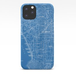 Los Angeles Street Map iPhone Case