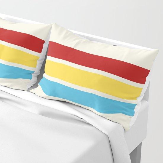 Hanbei - Classic Retro Stripes by alphaomega