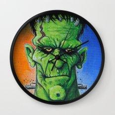 Frankenstein's Monster Wall Clock