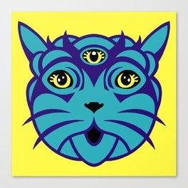 Third Eye Catnip Canvas Print