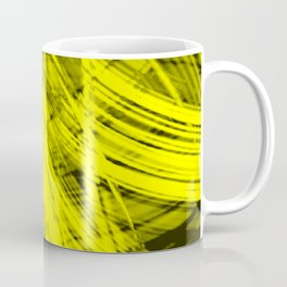 Explosive symmetrical fibers of bright lines with sand energy futuristic abstraction.  Coffee Mug
