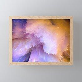 Space explosion art Framed Mini Art Print