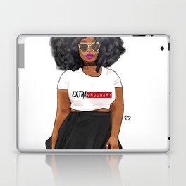 Extraordinary woman Laptop & iPad Skin