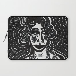 Flapper Siouxsie Laptop Sleeve