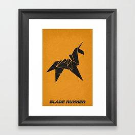 Blade Runner 01 Framed Art Print