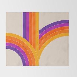 Bounce - Rainbow Throw Blanket