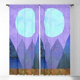 Take Me Away, Mountains, Full Moon Blackout Curtain